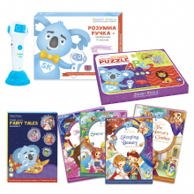 Smart Pen + Fairy Tales 2 + ABC Puzzle Іnnovative means of speech development