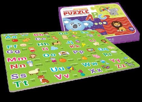 Smart Pen + Fairy Tales 2 + ABC Puzzle