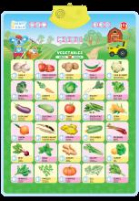 Аудио постер Овощи